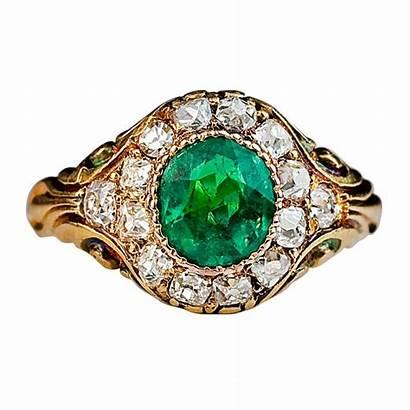 Emerald Russian Antique Ring 1stdibs Diamond Jewelry