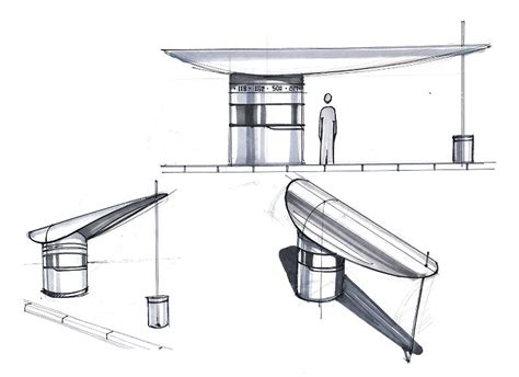 the gallery for gt bus shelter design