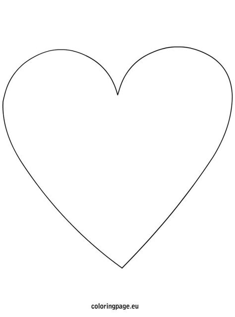 heart shape template valentines day