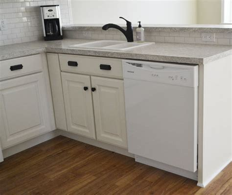 kitchen sink base cabinet white 30 quot sink base momplex vanilla kitchen diy 5640