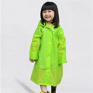 New Kids Rain Coat children Raincoat Rainwear/Rainsuit ...