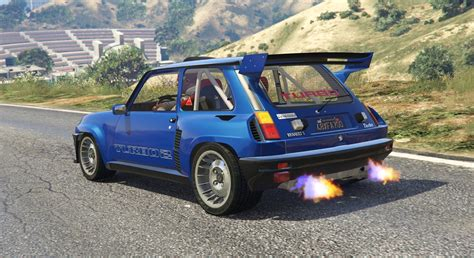 renault r5 turbo renault 5 turbo add on replace tuning livery