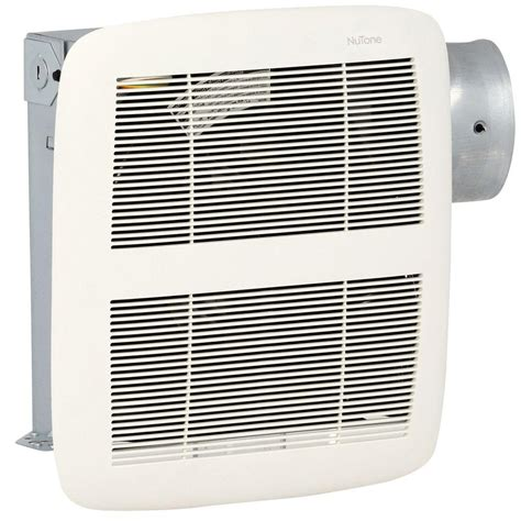 bathroom extractor fan and heater nutone loprofile 80 cfm ceiling wall exhaust bath fan with