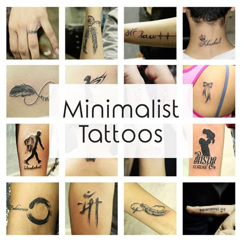 Minimalist Tattoo Ideas & Designs That Prove Subtle Things