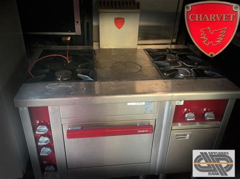 materiel cuisine pro occasion fourneau gaz charvet gamme pro 900 occasion vendu