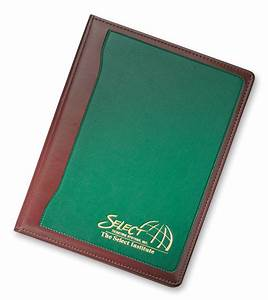 writing pad holders personalized leather writing pad With letter pad holder