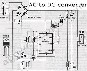 Voltage Converters Projects And Circuits
