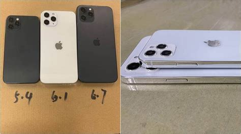 iPhone 12 leaked dummies hint at three screen sizes and