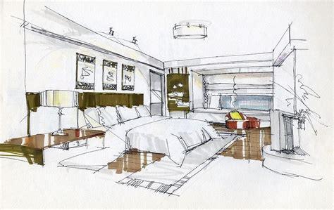 Interior Design Bedroom Sketches Fresh Bedrooms Decor