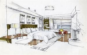 Interior Design Bedroom Sketches Fresh Bedrooms Decor Ideas