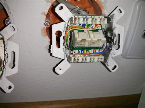 Rca Wall Plate Rj45 Connector Wiring Diagram by Networking Why Is My Lan Not Gigabit User