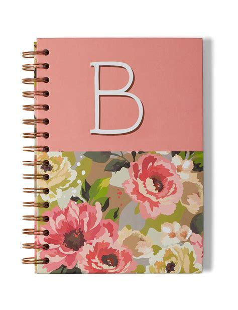 Tri Coastal Pink Journals & Notepads Monogram School