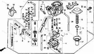 Honda Motorcycle 1985 Oem Parts Diagram For Carburetor