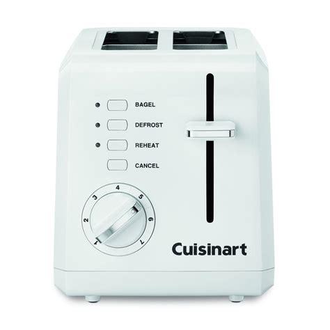 cuisine arte cuisinart 2 slice white toaster cpt 122 the home depot