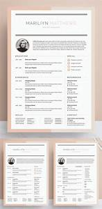 Cv Templates For It Professionals 50 Best Cv Resume Templates 2020 Design Graphic