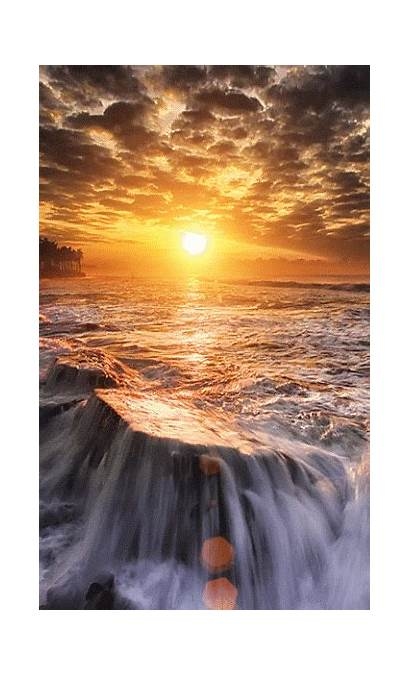 Sunset Scenery Morning Nature Places 3leapfrogs Waterfalls