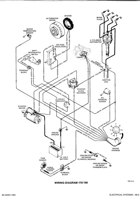 Mercruiser Ignition Coil Wiring Diagram by Mercruiser 4 3 Distributor Wiring Diagram Wiring Diagram
