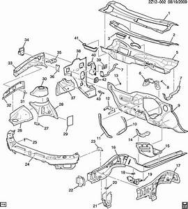 Pontiac G6 Reinforcement  Frame Front Side And Engine