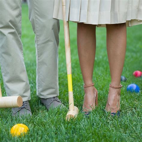 Backyard Croquet by Wedding Inspiration Our Favorite Images From