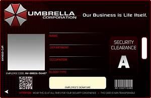 Umbrella Corporation Card