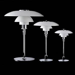 Louis Poulsen Lampen : louis poulsen ph 2 1 ph 3 2 of ph 4 3 tafellamp in glas ~ Eleganceandgraceweddings.com Haus und Dekorationen