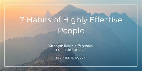lessons    habits  highly effective people