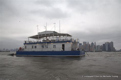 Boat Launch Jersey City by Discover The Known Floating Clubhouse Of The