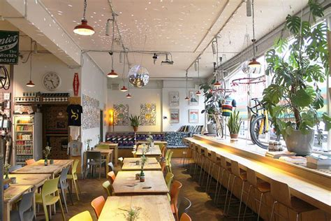 This california coffee shop was the brainchild of kyle glanville and charles babinski. best coffee shops london - Google Search in 2020 | Industrial cafe, Best coffee shop, Interior