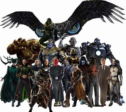 Mcu Villains Marvel Vulture Shocker Spider Iron