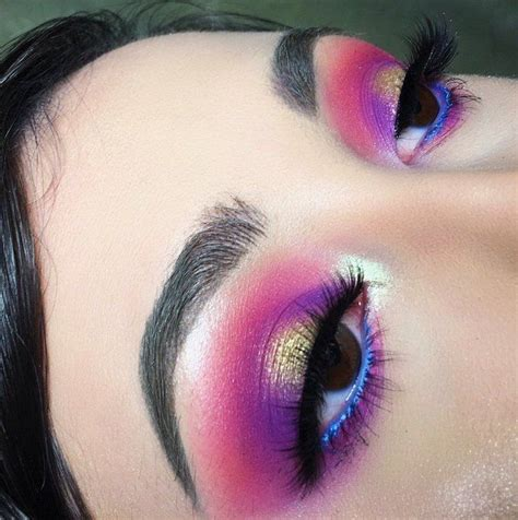 gxldluxe makeup   eye makeup tips colorful