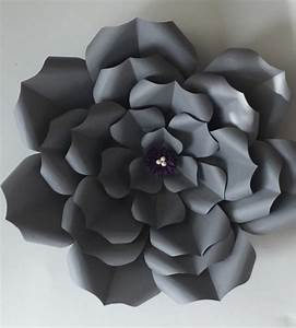 10 paper flower templates free sampleexample format download free premium templates for Paper flower templates free