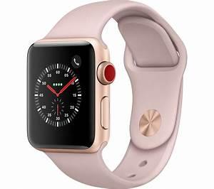 APPLE Watch Series 3 Cellular - Pink, 38 mm Deals | PC World