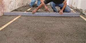Couler Une Chape : comment couler une dalle sur terre plein r ponses d ~ Melissatoandfro.com Idées de Décoration