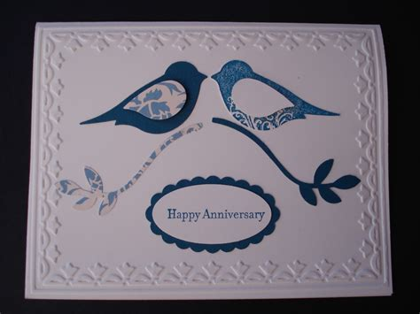 """Cards, Scraps, And Other """"junk""""  Anniversary Cards"""