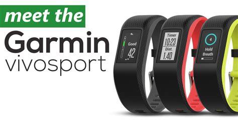 meet the new garmin vivosport gps smartwatch review