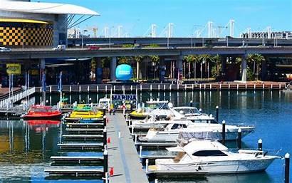 Marina Harbour Darling Sydney Boat Australia Yacht