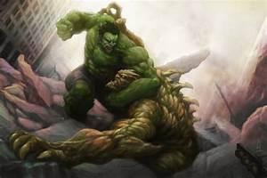 Hulk and Abomination vs Venom, Carnage, Lizard, and Toxin ...