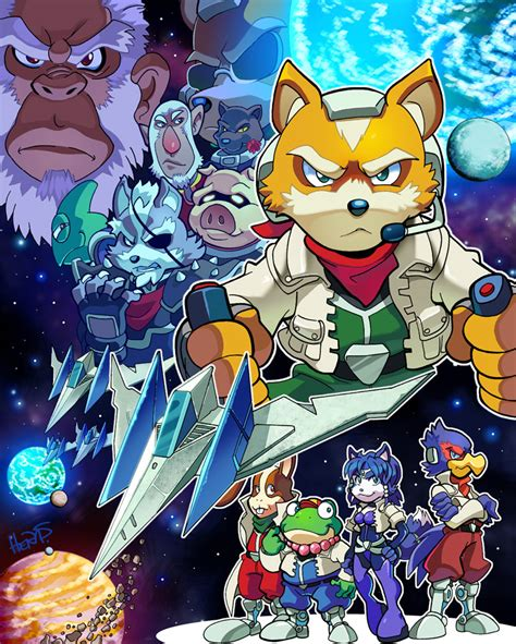 Star Fox By Herms85 On Deviantart