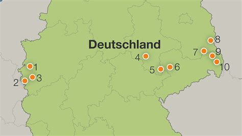größe deutschland alle braunkohle reviere das sind deutschlands letzte