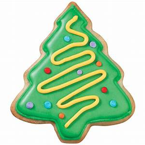 Christmas Tree clipart sugar cookie - Pencil and in color ...