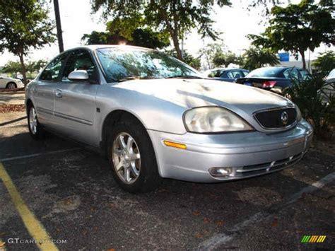 silver mercury table ls 2001 silver frost metallic mercury sable ls premium sedan