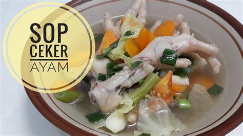 Membuat lonthong dan gulai sayur ceker ayam. Resep Sop Ceker Ayam Paling Enak - YouTube