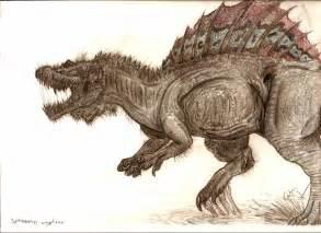 Spinosaurus Dinosaur Drawing