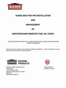 34 Fuel Oil Tank Installation Diagram