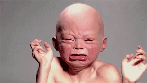 Crying Baby Meme - crying baby mask gifs find share on giphy