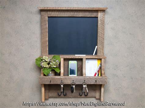 kitchen chalkboard organizer rustic chalkboard mail organizer shanty 2 chic 3345