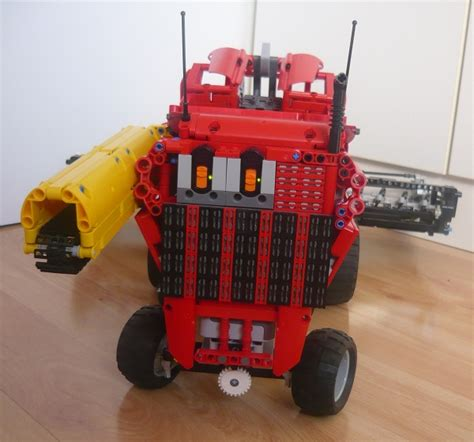 Lego Technic Combine by Combine Harvester Lego Technic Mindstorms Model Team