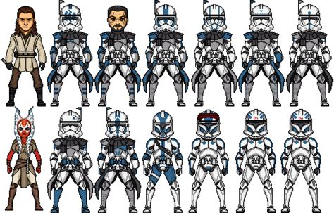 All Clone Legions Pictures To Pin On Pinterest