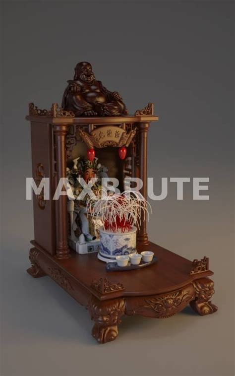 ban tho ong  dmax maxbrute furniture visualization