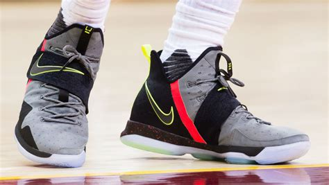 Lebron James Wearing The Nike Lebron 14 Sole Collector